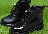 Демісезонні дитячі черевики шкіряні для дівчинки р32-37, фото 2