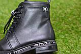 Демісезонні дитячі черевики шкіряні для дівчинки р32-37, фото 6