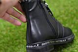 Демісезонні дитячі черевики шкіряні для дівчинки р32-37, фото 5