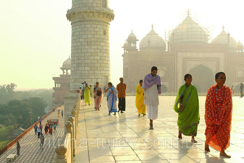 Групповой тур по Индии «Золотой треугольник Индии» HB (завтрак+ужин) на 5 дней