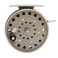 Катушка Рыболовная Для Бокового Кивка Жерлиц Инерционная Металлическая Fish 809 С Трещёткой