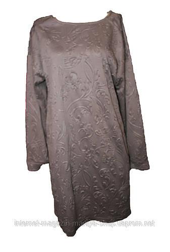 Женское платье модное полубатал