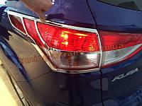 Хром задних фар Ford Kuga 2013+
