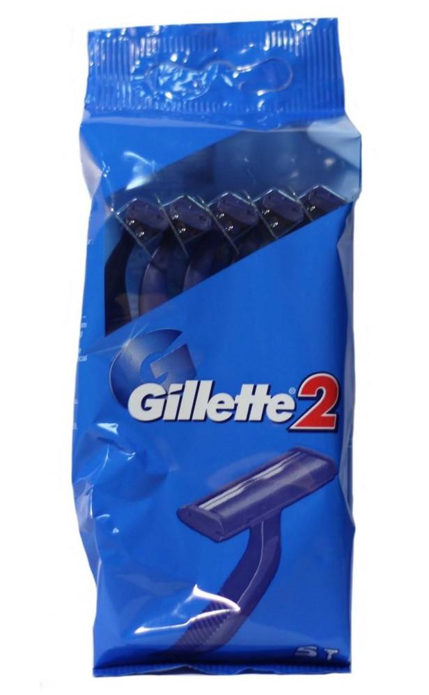 Станки для гоління (бритви) одноразові Gillette 2 5шт