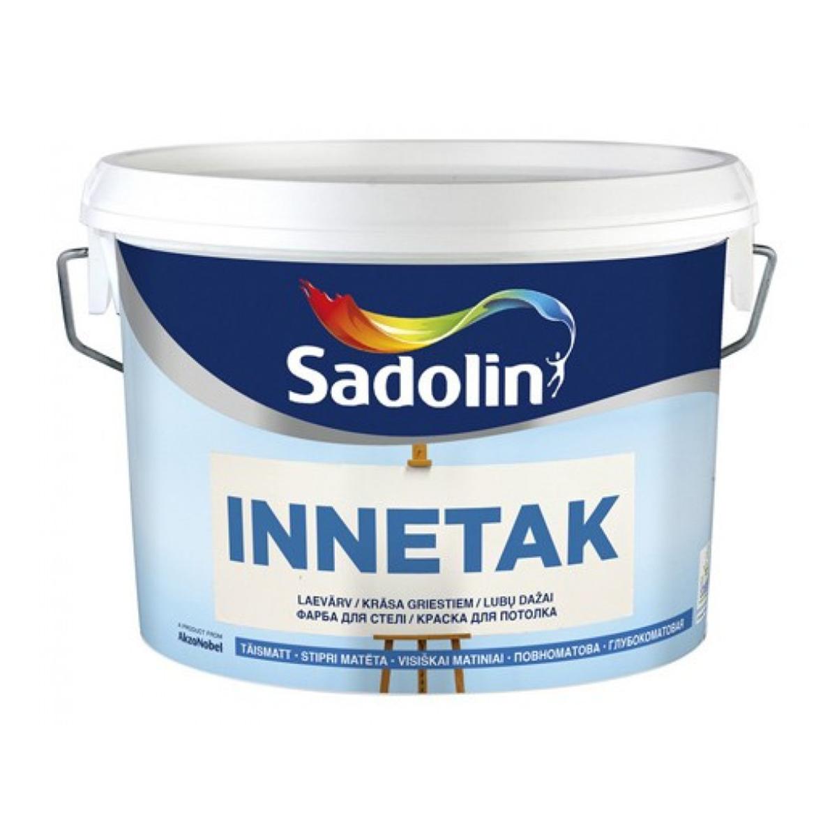 Глубокоматовая краска для потолка Sadolin Innetak 2.5л (Садолин Иннетак)