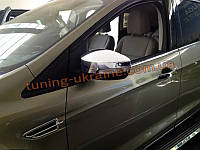 Хромированные накладки на зеркала Ford Kuga 2013+