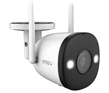 4МП цилиндрическая Wi-Fi видеокамера с видимой подсветкой и звуком IPC-F42FEP