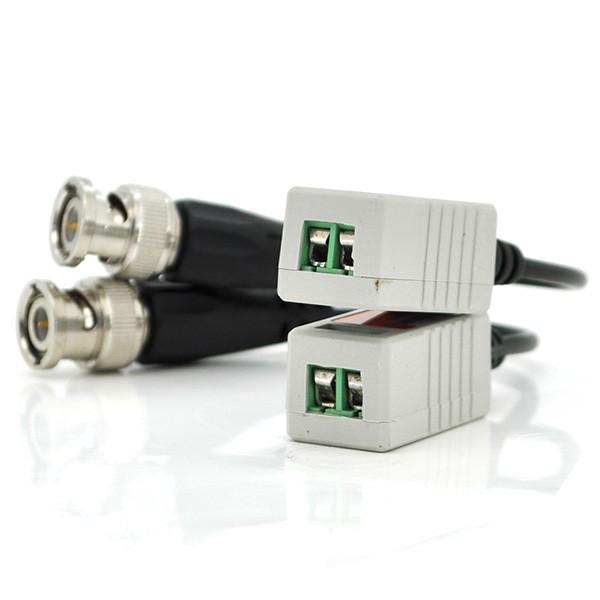 Пассивный приемопередатчик видеосигнала 202H AHD/CVI/TVI, 720P/1080P - 400/200 метров, цена за пару, Q100