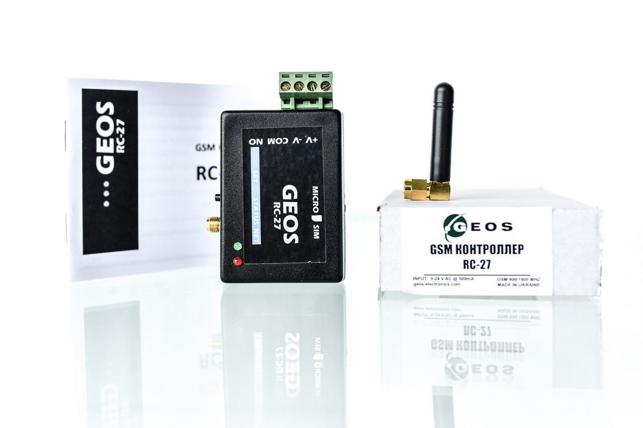 GSM контроллер RC-27 (для управления шлагбаумом, воротами, замками)