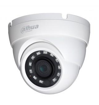 4 МП купольная  уличн/внутр камера DH-HAC-HDW1400MP (2.8 мм)