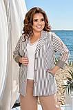 Піджак жіночий розміри: 50,52,54,56, фото 3