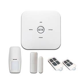 Комплект проводной GSM сигнализации PIPO WL-JT-10GX