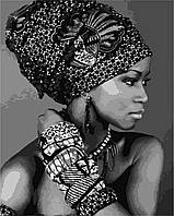 Картина за номерами ArtStory Африканська красуня 40*50см