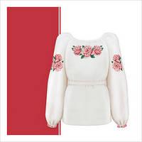Заготовка сорочки для девочки СДТ3-004 (размер 36-44)