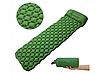 Каремат Туристический Надувной Tourist Mat-02 Green 220 * 58 * 6 см