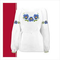 Заготовка сорочки для девочки СДТ3-002 (размер 36-44)