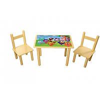 "Стол и стульчики ""Смешарики"" 4946"