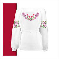 Заготовка сорочки для девочки СДТ3-001 (размер 36-44)