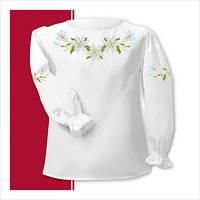 Заготовка сорочки для девочки СДТ1-001 (размер 26-28)