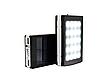 Внешний аккумулятор Power Bank Solar UKC M-16 90000 mAh с Cолнечной батареей LED Панелью и Фонариком