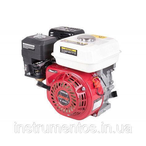 Бензиновый двигатель 6.5HP LEX168F (вал 20мм)