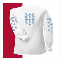Заготовка сорочки для девочки СДТ1-003 (размер 26-28)