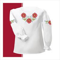 Заготовка сорочки для девочки СДТ1-004 (размер 26-28)