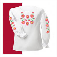 Заготовка сорочки для девочки СДТ1-006 (размер 26-28)