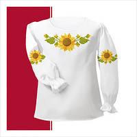 Заготовка сорочки для девочки СДТ1-007 (размер 26-28)