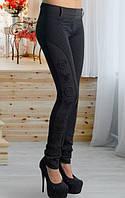 Лосины женские утепленные, лосины черные филипп плейн женские