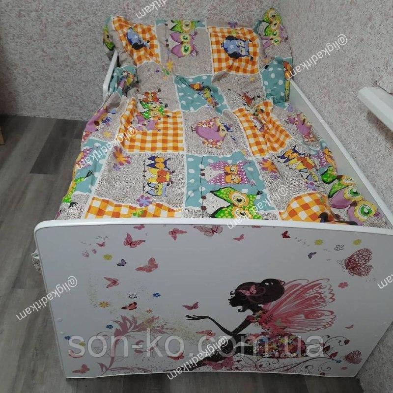 Ліжко дитяче Хепі Бейбі Єдиноріг. Безкоштовна доставка