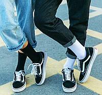 Носки 40-42 размер 6 пар высокие черные плотные хлопок 6 шт. комплект упаковка женские / мужские