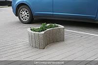 Ограничители парковки - бетонные цветочницы