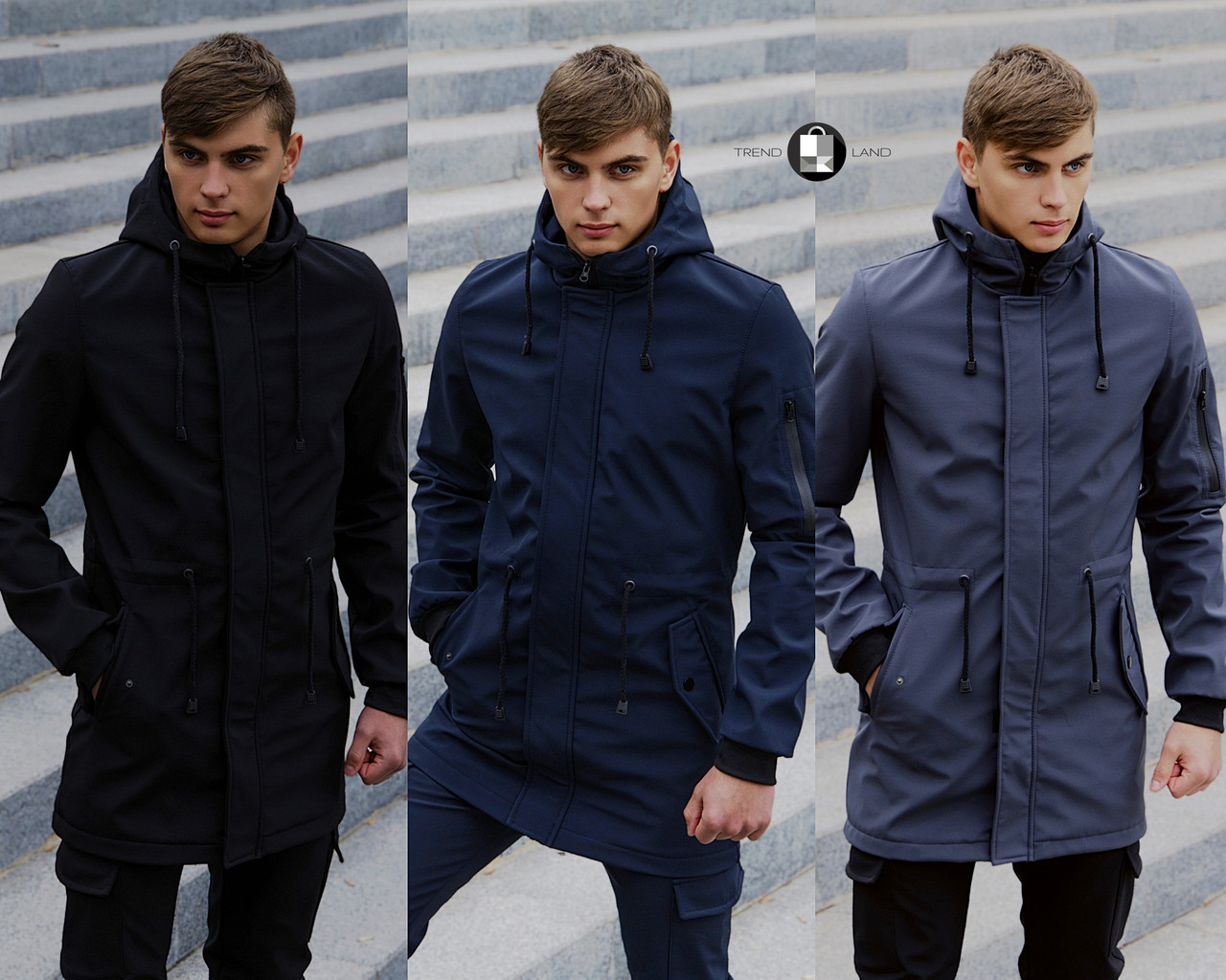 Размеры S-2XL | Мужская куртка Intruder Softshell V2.0
