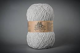 Пряжа хлопок 1500 ТМ Vivchari 103 светло-серый