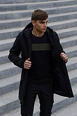 Розміри S-2XL | Чоловіча куртка Intruder Softshell V2.0 Black Чорна, фото 3
