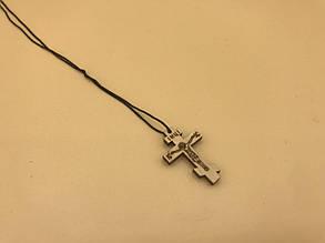 Крестик нательный деревянный