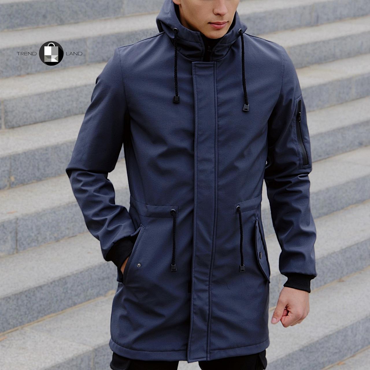 Розміри S-2XL | Чоловіча куртка Intruder Softshell V2.0 Grey Сіра