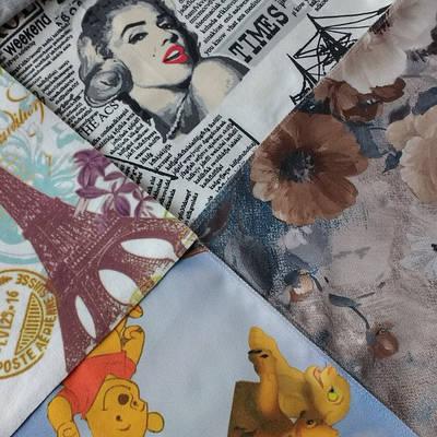 Мебельные ткани Принт для обивки