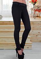 Лосины женские черные,черные лосины с поясом женские,утепленные лосины на флисе,