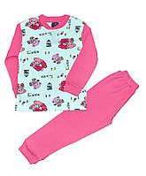 Пижамы детские для девочек (5-8 лет) Турция оптом купить от склада 7 км, фото 1