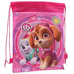 Детская сумка для сменной обуви Щенячий Патруль мешок для спортивной формы