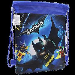 Детская сумка для сменной обуви Бэтмен мешок для спортивной формы