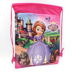 Детская сумка для сменной обуви София прекрасная мешок для спортивной формы