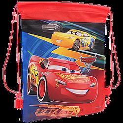 Детская сумка для сменной обуви Тачки мешок для спортивной формы