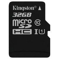 Карта памяти Kingston 32GB microSDHC Class 10 UHS-I (SDC10G2/32GBSP)