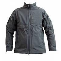 Куртка без капюшона Shark Skin Soft Shell Black, фото 1