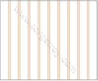 Реечный потолок: белая рейка с бежевой вставкой