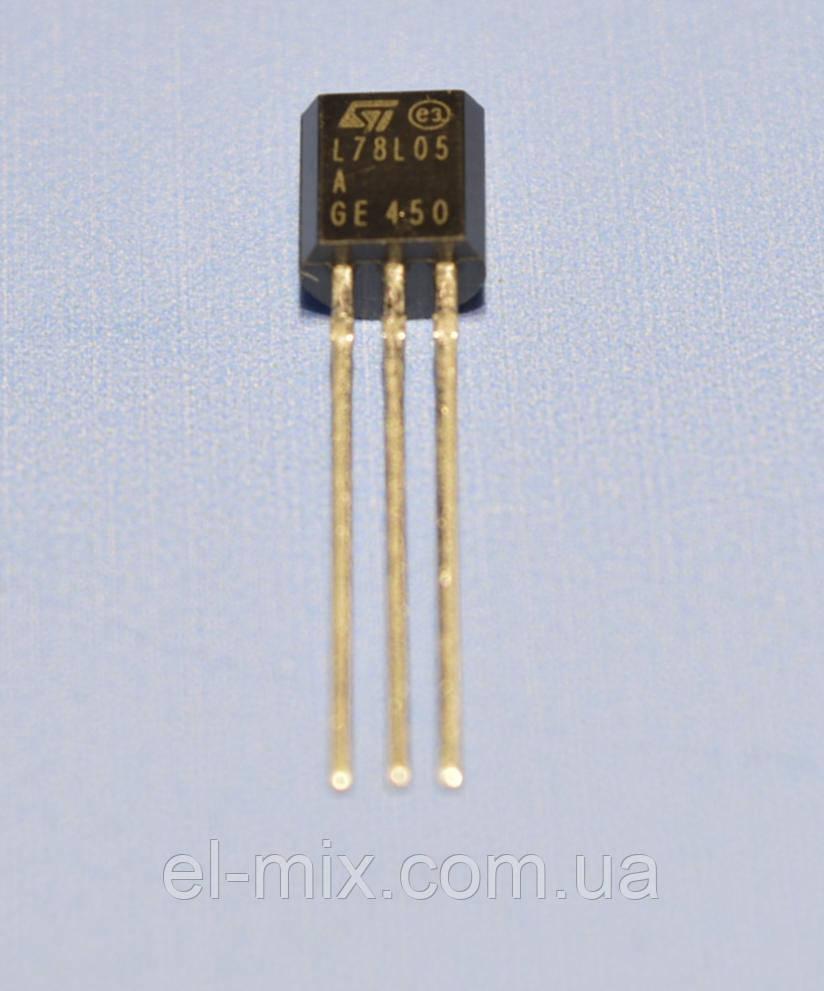 Микросхема 78L05ACZ  ТО-92  STM