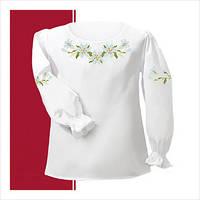 Заготовка сорочки для девочки СДТ2-001 (размер 30-34)